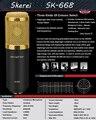 Высокое Качество Профессиональный Конденсаторный Микрофон Студия Звукозаписи Микрофон КТВ Караоке Компьютер Проводной Динамический Микрофон Микрофон