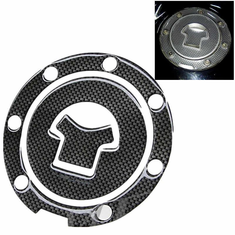 Motosiklet yakıt tankı Pad gaz yağı kapatma başlığı Sticker çıkartma koruyucu karbon Honda CBR RVF VFR CB400 CB1300 CBR1000RR CBR600R