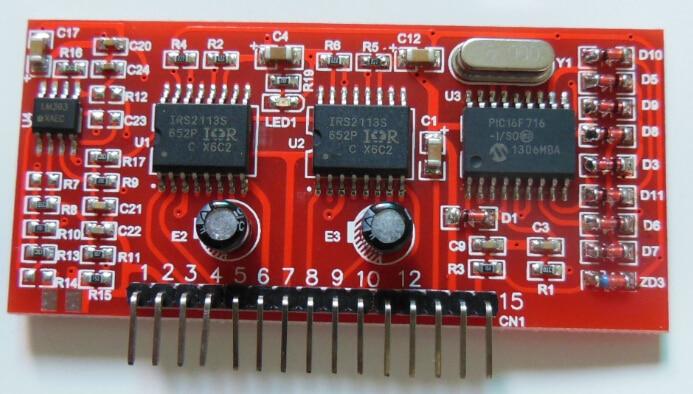 pic16f716 + ir2113s чистый синусоидальный инвертор
