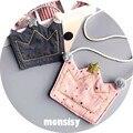 Kawaii Baby girls handbags coin purses cloth crown messenger/shoulder/crossbody bags for kids girls fashion toddler mini bags
