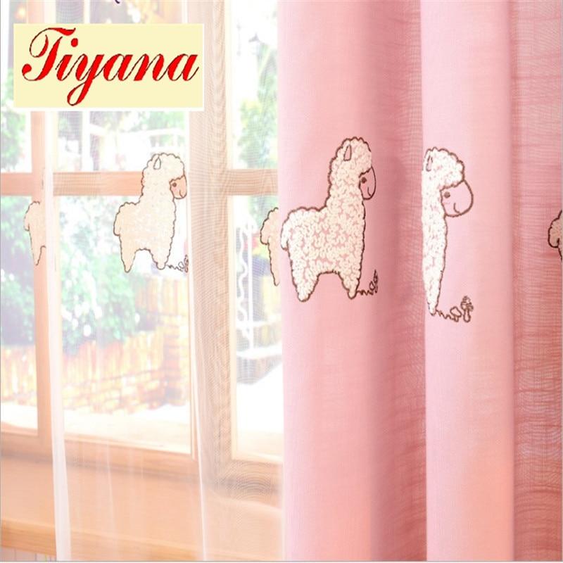 Moderne Fenster Schatten Zimmer Verdunkelung Schafe Schiere Vorhang Blackout Cartoon Wohnzimmer Kinder Mdchen Schlafzimmer Blind