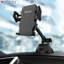 Yesido C40 Telescopic Car Phone Holder Windshield Sucker Mount Mobile Stand For iPhone Samsung