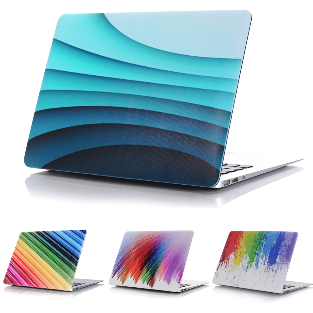 Oil Painting Rainbow Style Protective Hard Case Shell for MacBook 12 inch Air 11 13 inch Pro 13 15 inch Pro Retina 13 15 inch