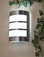 Modern brief stainless steel outdoor lamp wall lamp spotlights ceiling light E27 Free Shipping
