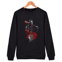 LUCKYFRIDAY Negan Sweatashirt Autumn European Style Fashion Casual Mens Negan Sweatshirt Man Fleece Hoodies And