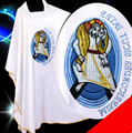 Catholicism robe tunic clothes church clothing priest clothing white priest clothes