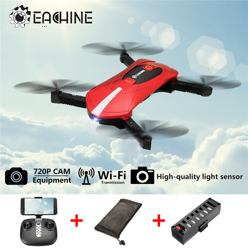 Eachine E52 2MP Wide Angle WiFi FPV With Altitude Hold Foldable Arm RC Quadcopter Drone Toys RTF Red Blue VS JJRC H37 Mini E50 jjr c jjrc h39wh wifi fpv with 720p camera high hold foldable arm app rc drones fpv quadcopter helicopter toy rtf vs h37 h31