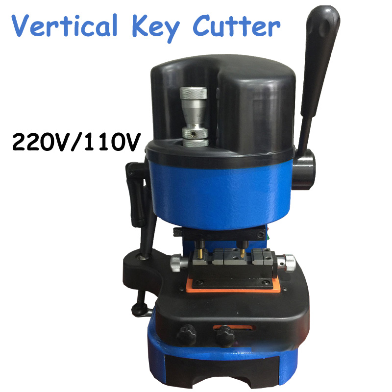Vertical Key Cutting Machine 220/110V Key Copy Machine Duplicate Keys Locksmith Tools DEFU 303B  цены