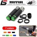Hot sales Motorcycle Handle bar / Handlebar Grips Carbon Fiber Material 7/8'' CNC 22MM For ER-6N ER-6F Ninja250 ninja300 Z300