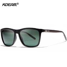 KDEAM lightweight Aluminum Men Sunglasses Polarized Faultles