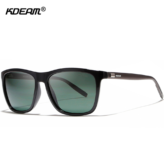 b3009d2db2 lightweight Aluminum Men s Sunglasses Polarized Faultlessly Night Vision  Glasses UV400 HD Display Lens Polaroid Sunglass KDEAM