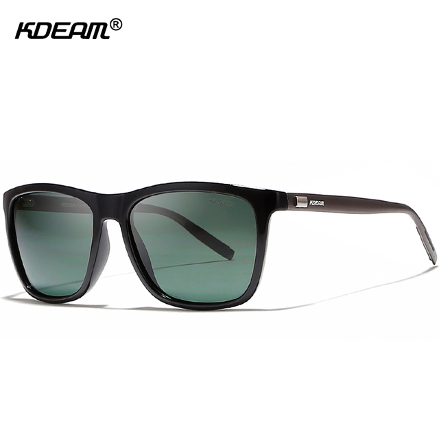 a535bf39511cba lightweight Aluminum Men s Sunglasses Polarized Faultlessly Night Vision  Glasses UV400 HD Display Lens Polaroid Sunglass KDEAM