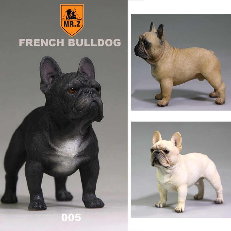 Bündel 12 Hunde aus Harz 6 Rechts 10 cm von Haut Bulldogge Französisch Dobermann