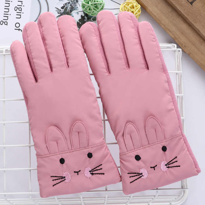 Baby Clothing Children's Ski Gloves Korean Winter Warm Outdoor Riding Gloves Winter gloves Kids Girls Boy Bicycle Gloves