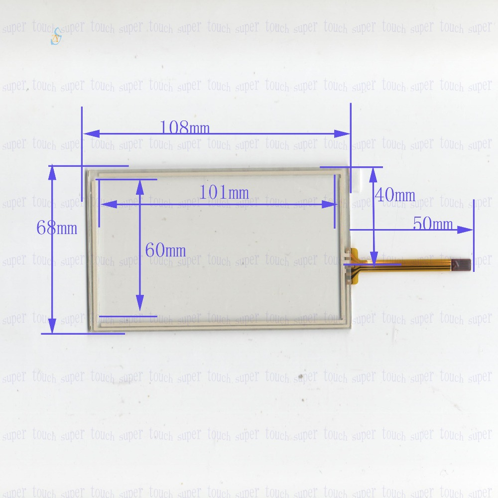 small resolution of zhiyusun new 4 3 inch 108mm 68mm touch screen 4 wire resistive usb touch panel overlay kit 108 68 this is compatible