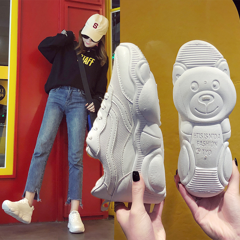 white Bear Women Casual Shoes Platform Flat Shoes Breathable Running Sneaker Female Spring autumn Leisure Shoes Vulcanize Shoeswhite Bear Women Casual Shoes Platform Flat Shoes Breathable Running Sneaker Female Spring autumn Leisure Shoes Vulcanize Shoes