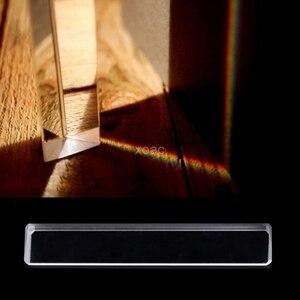 الثلاثي اللون بريزم K9 الزجاج البصري زاوية الحق يعكس الثلاثي بريزم لتعليم ضوء الطيف M13 دروبشيب