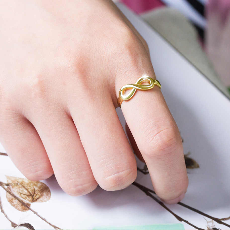 Dainashi רומנטי bow-קשר 925 כסף מעולה באיכות מחורר את טבעות מסיבת חתונת אצבע טבעות תכשיטי אופנה נשים