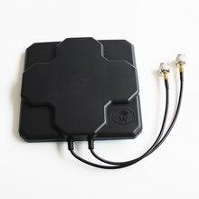 Dlenp 4g антенна 4 г антенны Открытый Панель 18dbi высокого усиления 698-2690 мГц 4 г LTE Антенна направленного MIMO внешний антенна для Беспроводной маршрутизатор