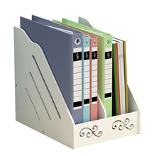 Eco Friendly Desk Organizer Book Magazine Holder for the Office Rack File School Organizers Joy Corner