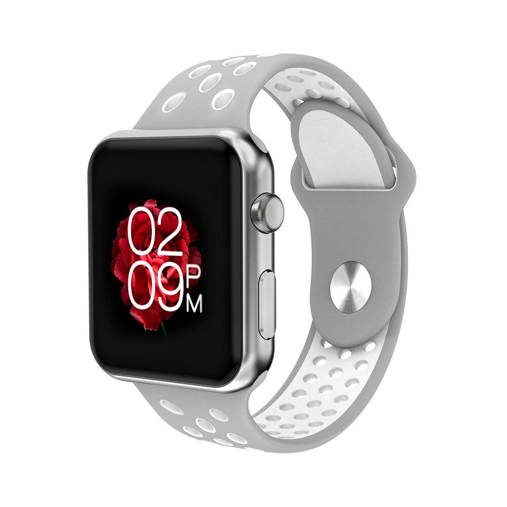 imágenes para Smochm IWO3 Plus (o IWO 4) Bluetooth Reloj Elegante IWO 1:1 de La Presión Arterial Monitor de Ritmo Cardíaco para El Iphone IOS Android teléfonos inteligentes