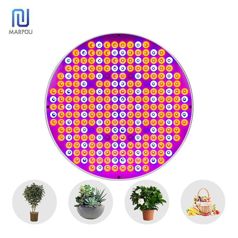 LED Full Spectrum Plant Grow Light 50W AC85-265V 250LEDS Growth Panel Lamp For Indoor Greenhouse Hydroponics Planting Seeding