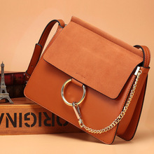 Retro Solid Color Small Square Package 100% Genuine Leather Fashion Women's Real Cowhide Crossbody Bag Handbags