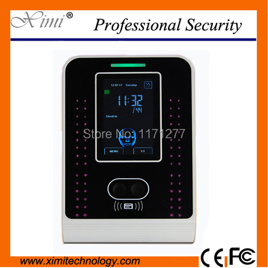 400 face user 3.5 inch touch screen WIFI TCP/IP VF500 face RFID card time attendance face recognization time clock