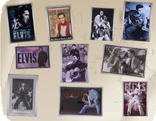 1 pc Elvis Presley Dancer guitarist singer Tin Plate Sign plate wall plaques man cave Decoration Art Vintage Poster metal цена