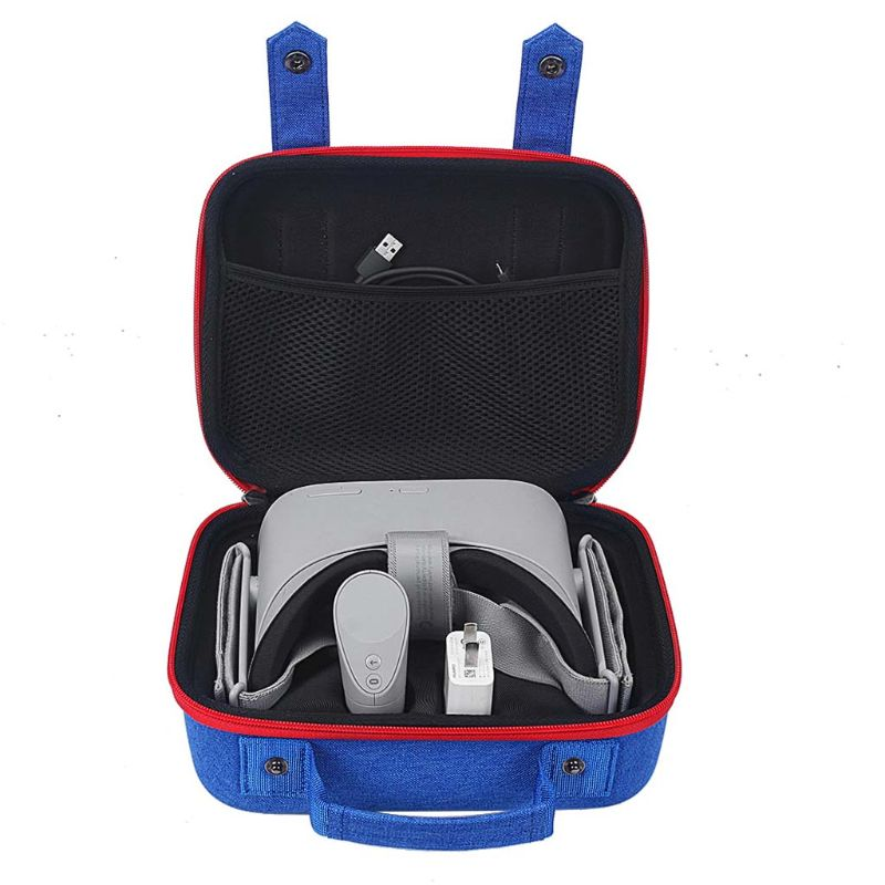 Colorful Storage Carry Bag Case for Xiaomi Oculus Go VR Glasses and Accessories Shockproof Carrying Cover Bag in Camera Video Bags from Consumer Electronics