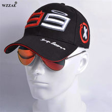 WZZAE Trucker Hat 99 Jorge Lorenzo Hats for Men Racing Cap Cotton GP Motorcycle Racing Baseball Caps Car Sun Snapback Caps(China)