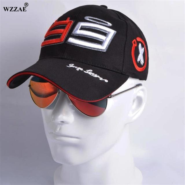WZZAE Trucker Hat 99 Jorge Lorenzo Hats For Men Racing Cap Cotton GP Motorcycle Baseball Caps Car Sun Snapback