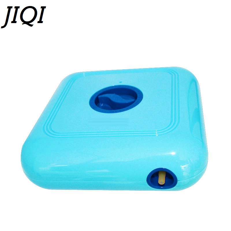 JIQI Mini Deodorizer Fridge ozone generator fresh filter Air Purifier Portable Travel oxygen Ionizer fruit vegetables Cleaner EU бюстгальтер patti tender голубой 80c ru
