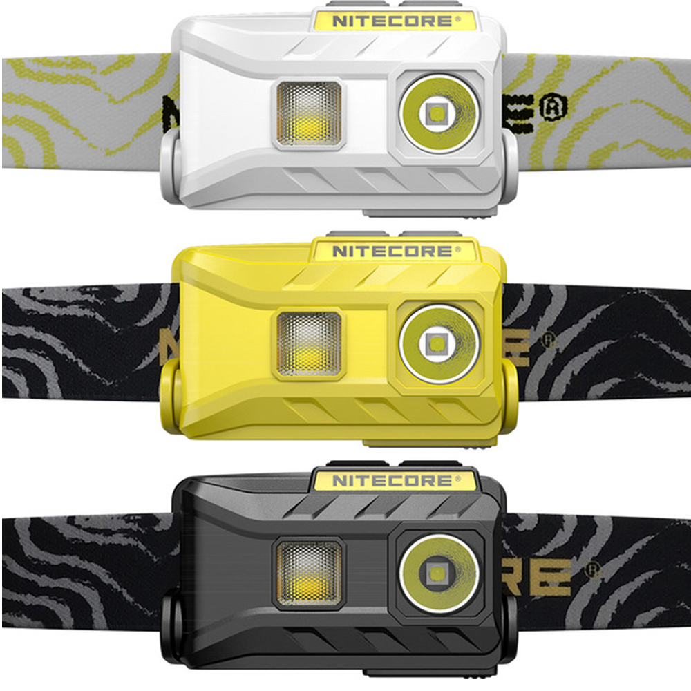 NITECORE NU25 USB rechargeable Headlamp XP G2 S3 max 360 lumen lightweight headlight with built in
