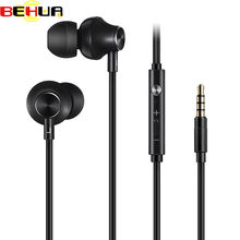 In-ear Earphone Headset Earbuds Bass Earphones High Quality Ear phones For iphone 6 6s 7 8 plus for xiaomi earphone smartphone(China)