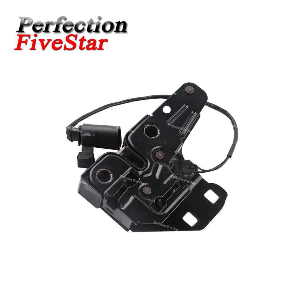 New 1Pcs Engine Hood Lock Latch Lower For Audi A6 S6 Quattro 2005 2008 A6 Allroad Quattro 2007 2011 4F0823509A/B