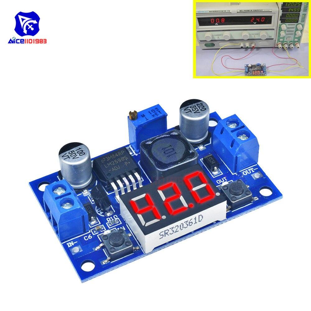 1//3//5pcs Voltmeter Module Voltage Regulator Buck Converter LM317 Circuit Board