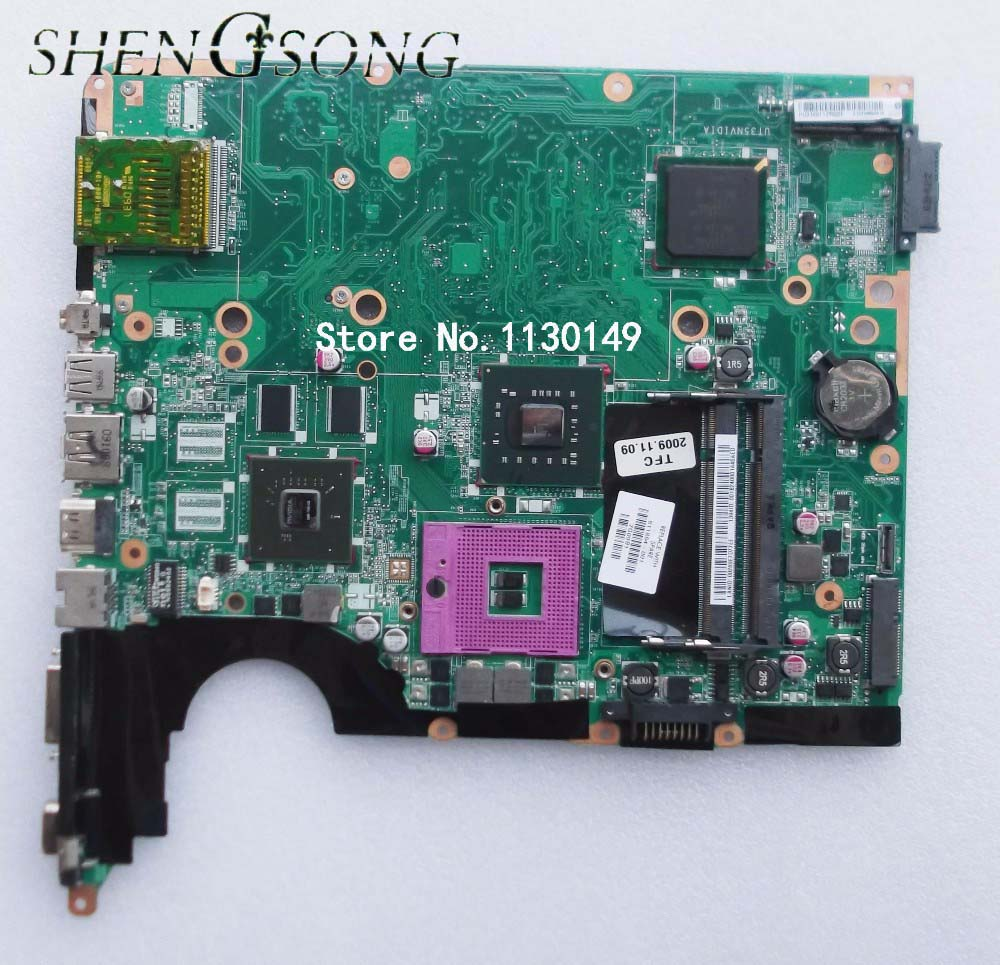 Free Shipping 511864-001 DA0UT3MB8D0 laptop motherboard for HP DV6 DV6-1000 PM45 DDR2 , fully tested mbecu01001 motherboard for acer travelmate 5230 5330 5330g mb ecu01 001 homa mb 48 4z401 01m tested good