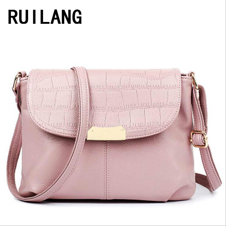 Ruilang 2017 Женская Мода чехол сумка женский одного плеча сумка дизайнер леди сумка Портфели сумки
