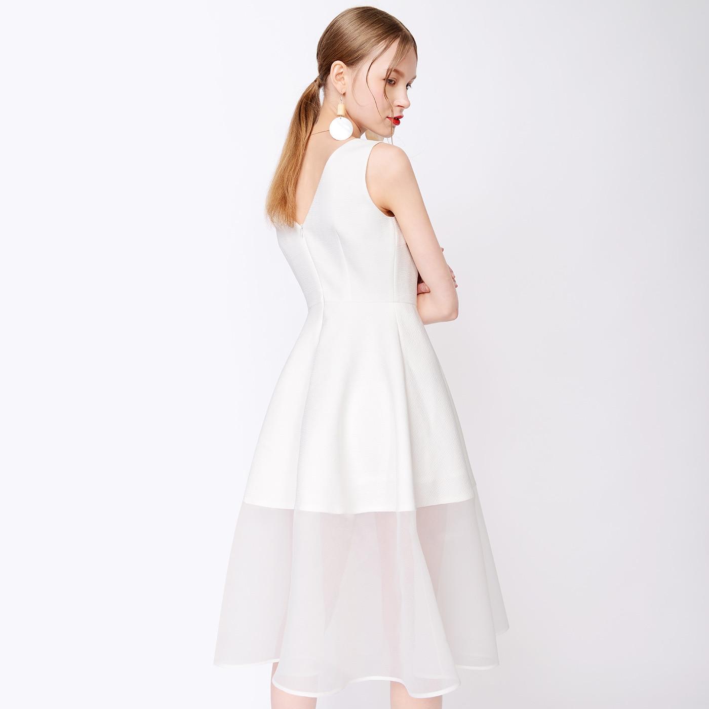 f8ece4cea139a WQJGR Summer Dress Sleeveless Women Dress O neck Party Dresses Minimalist  Vestido De Festa-in Dresses from Women's Clothing & Accessories on ...