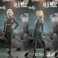 Saga of Tanya the Evil Tanya von Degurechaff Youjo Senki Uniform Jacket Anime Cosplay Costume Christmas Full set New