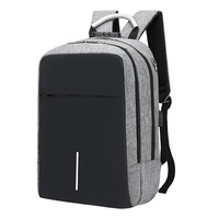 Male Backpack Female Student Bag Computer Shoulder Pack Casual Travel Bag Waterproof Oxford cloth Simple Backpack fashion
