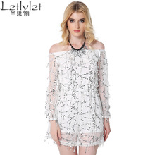 Schulterfrei elegante durchsichtig short mini dress abendkleid club party pailletten dress vestido de noche robe de soiree