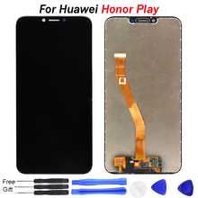 цена на For Huawei Honor Play LCD Display Touch Screen New Digitizer Glass Panel Replacement Screen  6.3