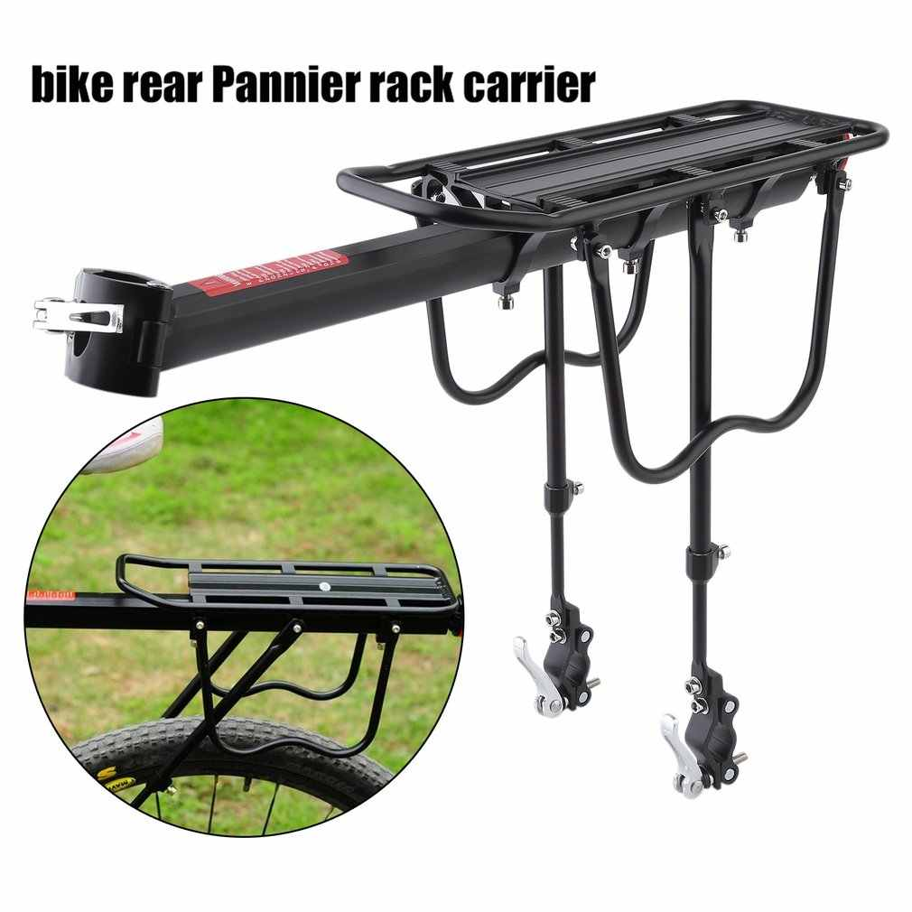 Aluminum Alloy Bicycle Rack Bike Luggage Carrier MTB Bicycle Mountain Bike Cycling Rear Rack Seatpost Bag Holder Hot