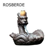 Dragon incense burner Statue Backflow sandalwood