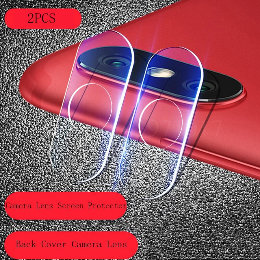 2Pcs For Xiaomi Mi 8SE Back Camera Lens Tempered Glass Redmi S2 Screen Protector Full Cover Glass For Xiaomi MI 8 6X Mix2s MI8SE