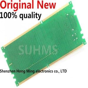 Image 2 - 100% Yeni orijinal Masaüstü DDR2 DDR3 ram bellek Yuvası Test Cihazı LED DDR2 DDR3 Yuvası Test Masaüstü Anakart