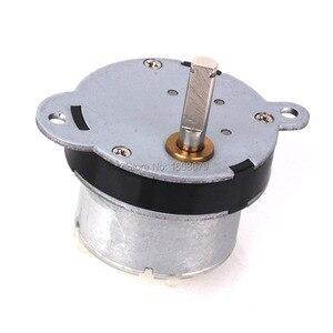 Ebowan 12 v dc metal motor de engrenagem elétrica 40mm 7 rpm poderoso alto torque para rc carro robô modelo diy motor brinquedos casa aparelho