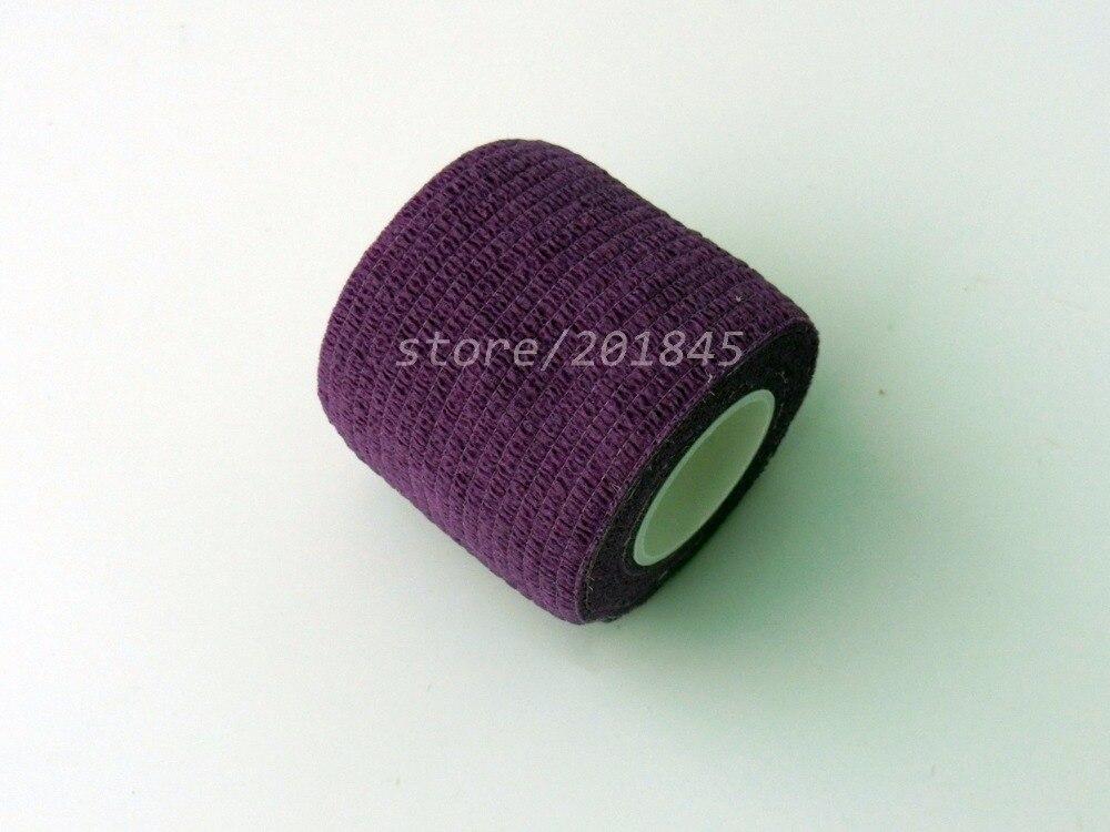 48Pcs/Lot  Non woven Stretch Gauze Self Adhesive Cohesive Medical Bandage 5cm*4.5m Purple 96pcs lot non woven self adhesive cohesive bandage elastic gauze 5cm 4 5m red